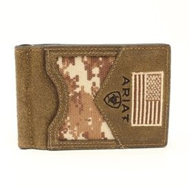 Ariat Men's Ariat Bi-Fold Money Clip A3536944