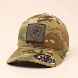 Ariat Men's Green Camo Logo Cap