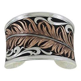 Montana Silversmiths Montana Silversmiths Cuff Bracelet BC3914RG