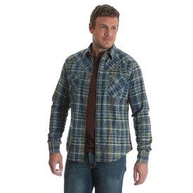 Wrangler Men's Wrangler Retro Snap Front Shirt MVR382M