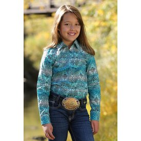 Cruel Girl Girl's Cruel Girl Snap Front Shirt CTW8040001