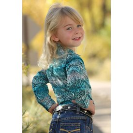 Cruel Girl Toddler's Cruel Girl Snap Front Shirt CTW8041001