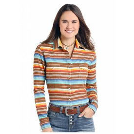 Panhandle Women's Rough Stock Snap Front Shirt R4S7580