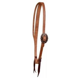 Berlin Custom Leather Cowboy Culture Split Ear Headstall