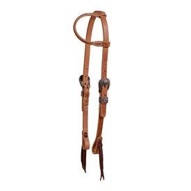 Berlin Custom Leather Cowboy Culture  Slip Ear Headstall