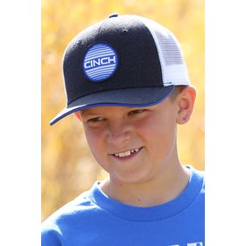 Cinch Striped Logo Patch Kids Cap
