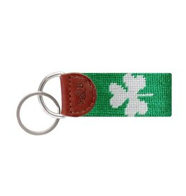 Smather's & Branson Key Fob Shamrock Kelly