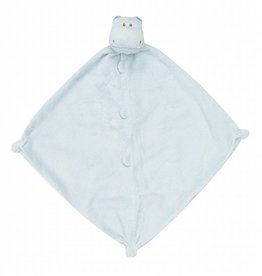 Angel Dear Blankie Blue Hippo