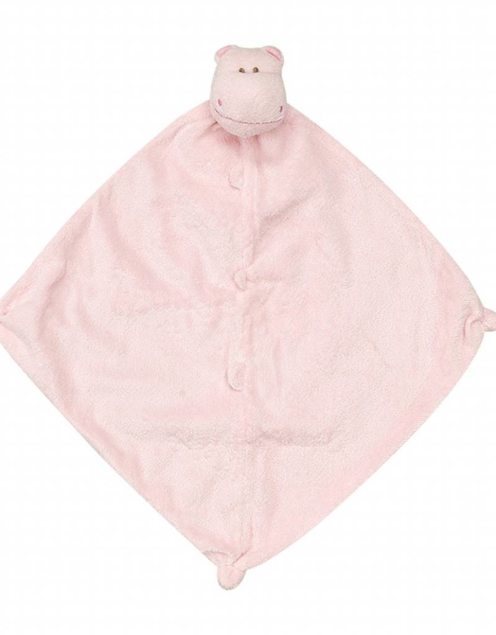 Angel Dear Angel Dear Blankie Pink Hippo