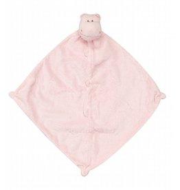 Angel Dear Blankie Pink Hippo