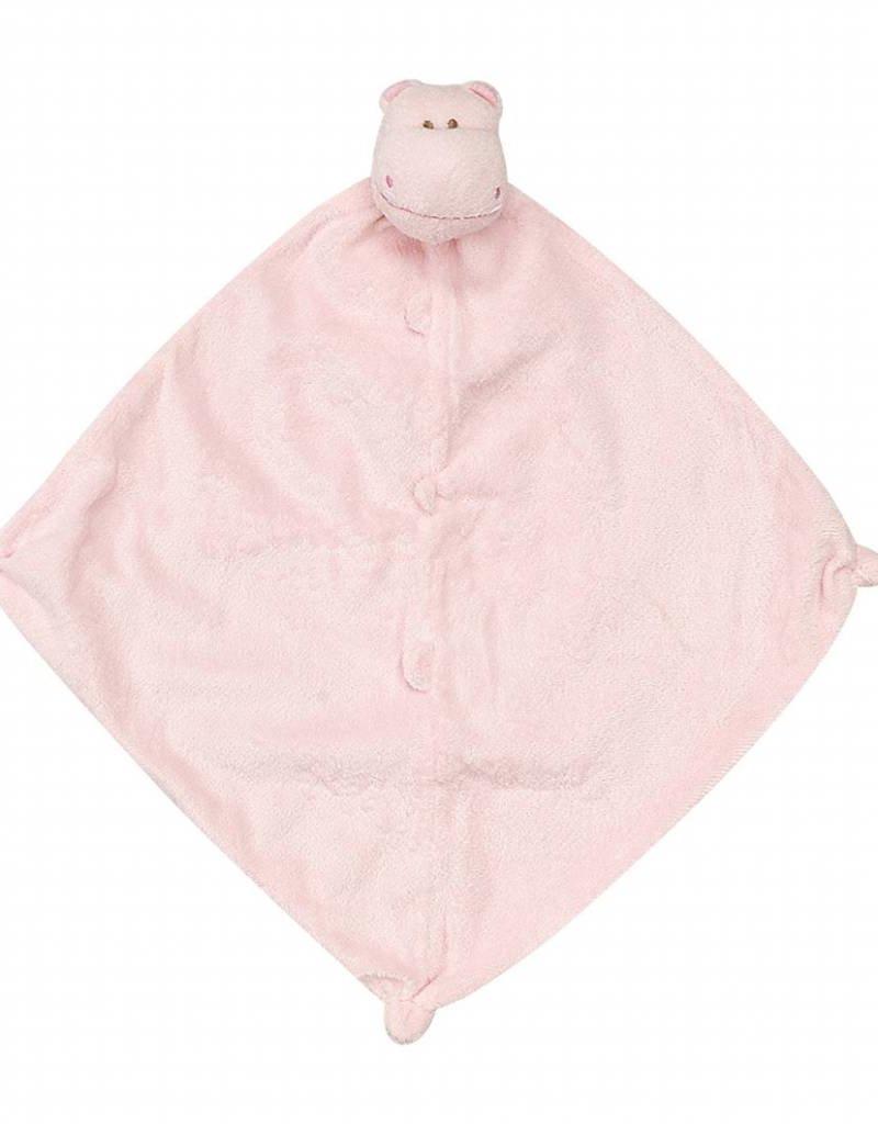 Angel Dear Angel Dear Blankie Pink Hippo