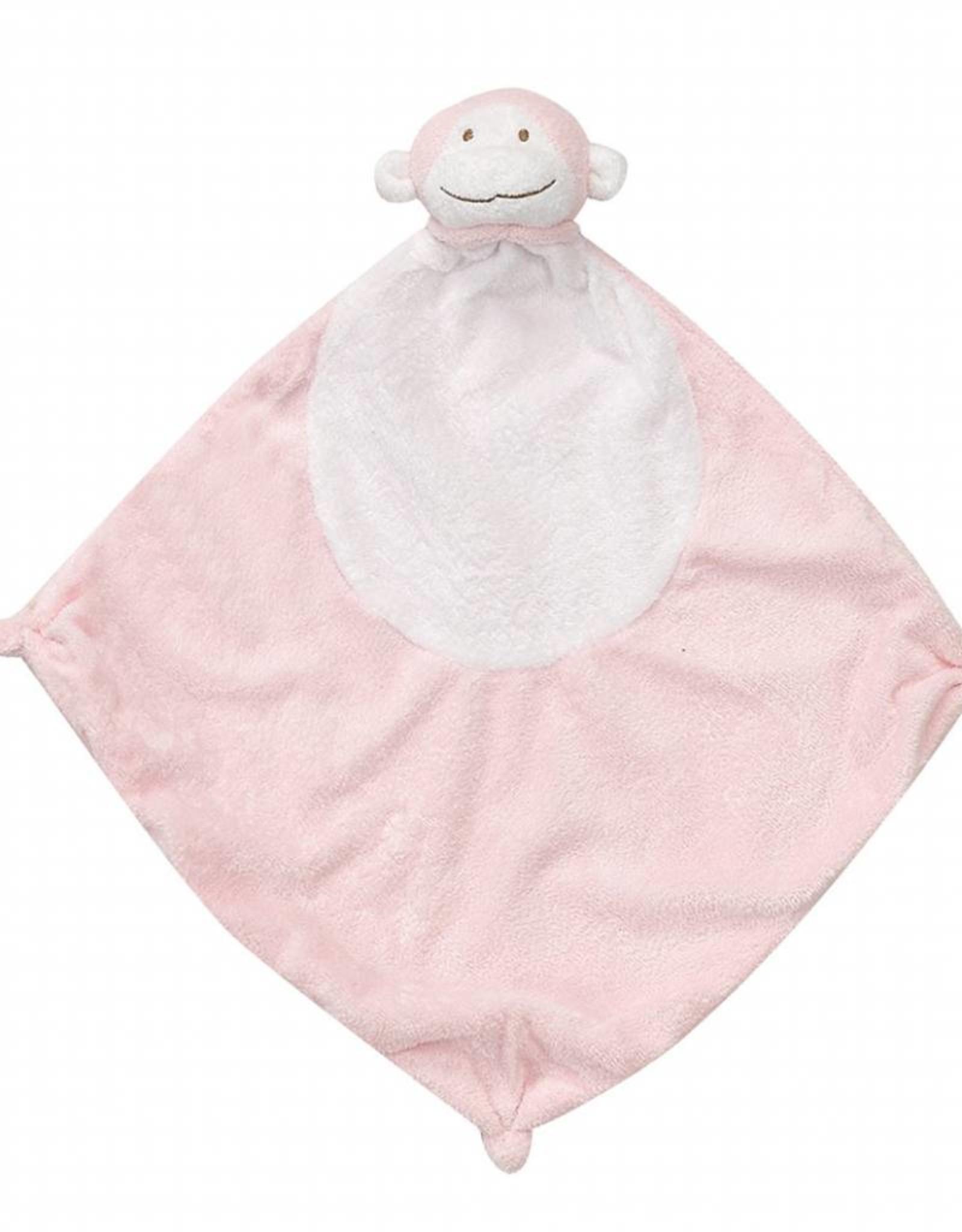 Angel Dear Angel Dear Blankie Pink Monkey
