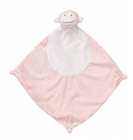 Angel Dear Angel Dear Blankie Pink Monkey