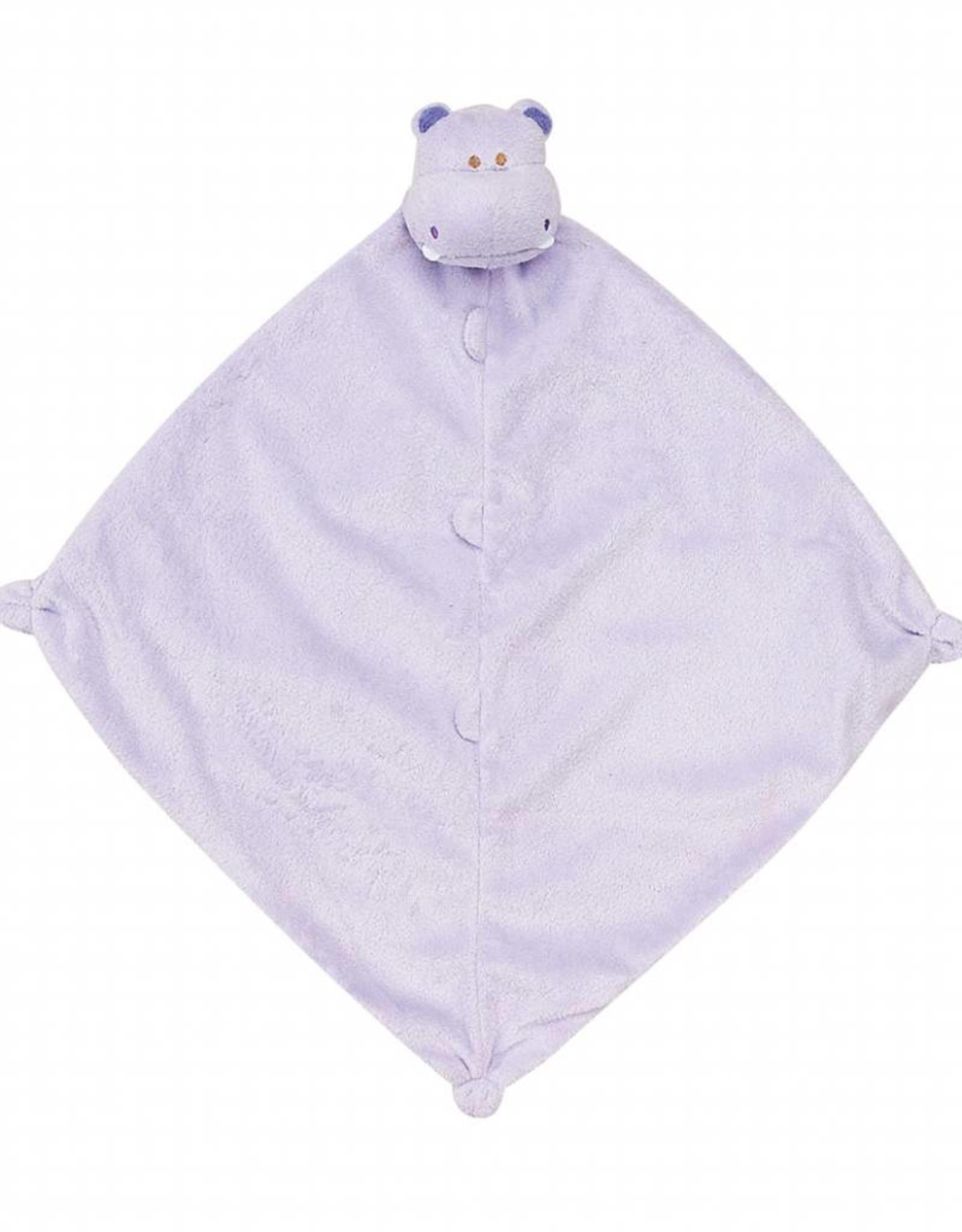 Angel Dear Angel Dear Blankie Purple Hippo