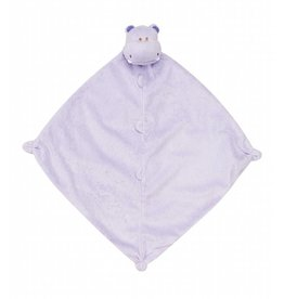 Angel Dear Blankie Purple Hippo