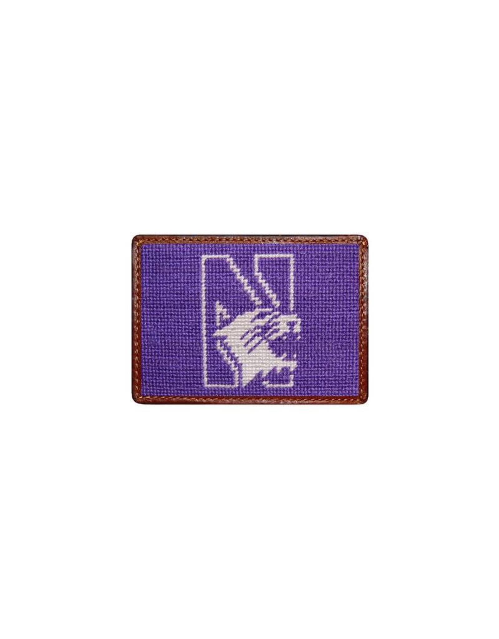Smather's & Branson Card Wallet Northwestern