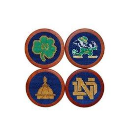 Smather's & Branson Coaster Set Notre Dame