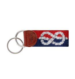 Smather's & Branson Key Fob Nautical Knot