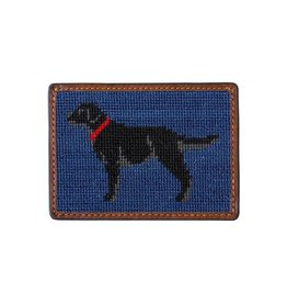 Smather's & Branson Card Wallet Black Lab