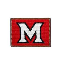Smather's & Branson Card Wallet Miami of Ohio