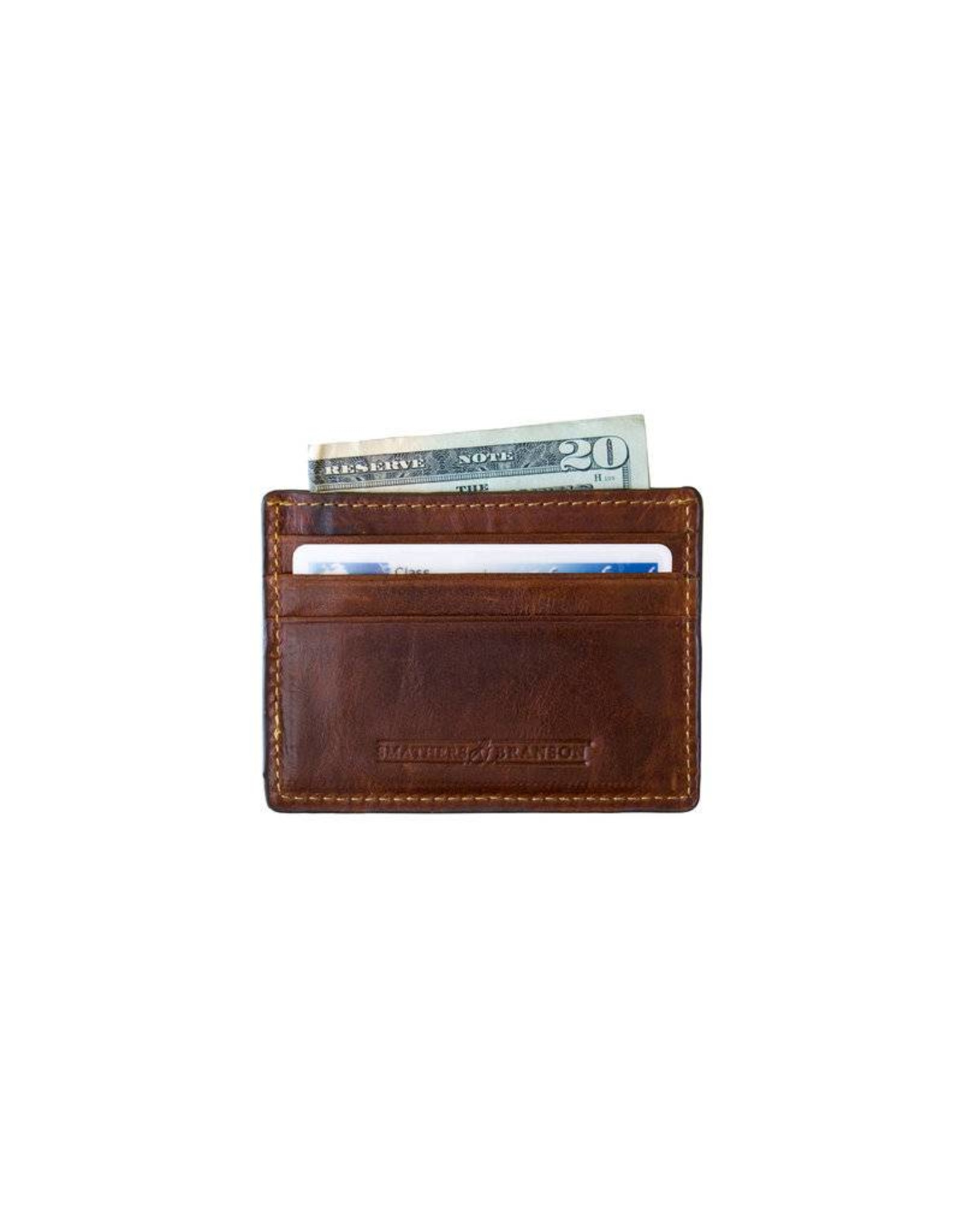 Smather's & Branson Card Wallet Yellow Lab
