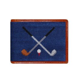 Smather's & Branson Wallet Crossed Clubs