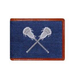 Smather's & Branson Wallet LaCrosse Navy