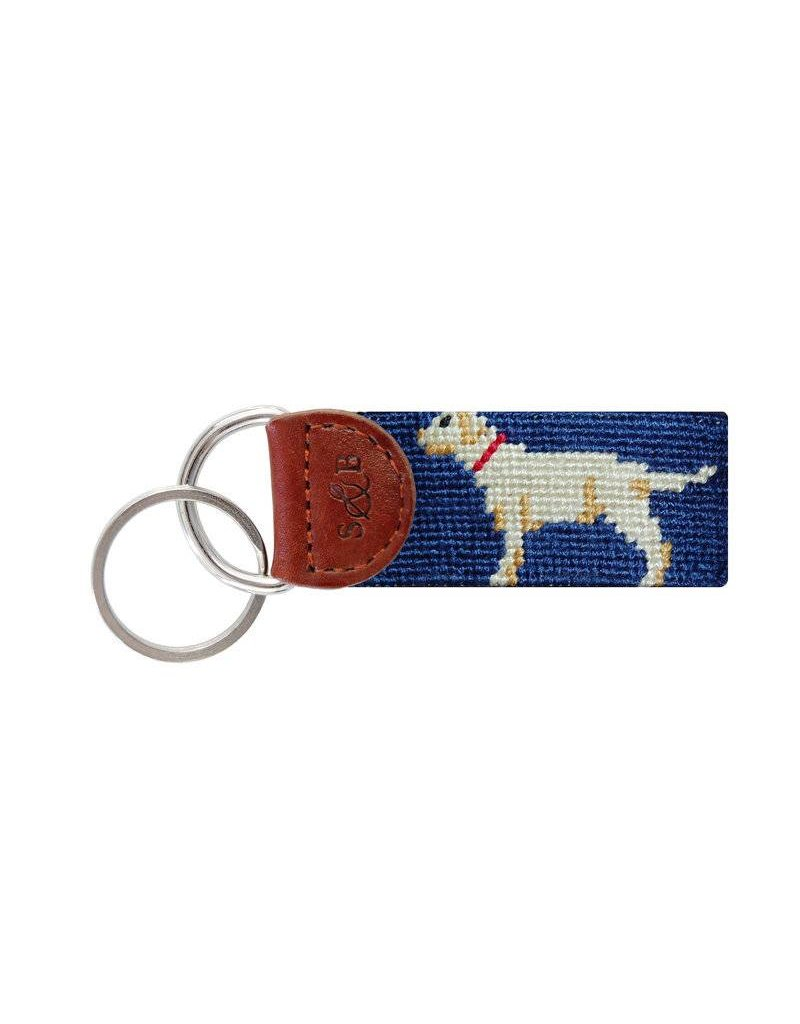 Smather's & Branson Key Fob Yellow Lab