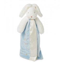 Bunnies by the Bay Buddy Blanket Blue Bunny