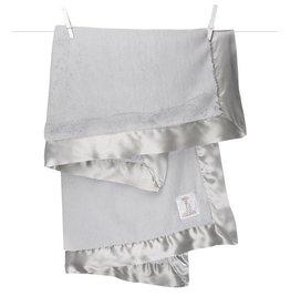 Little Giraffe Luxe Blanket Silver
