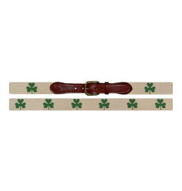Smather's & Branson Belt Shamrock Ivory
