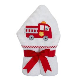 Three Marthas Everykid Towel Fire Truck