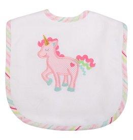 Three Marthas Bib Toddler Unicorn