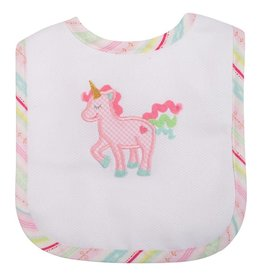 Three Marthas Feeding Bib Unicorn