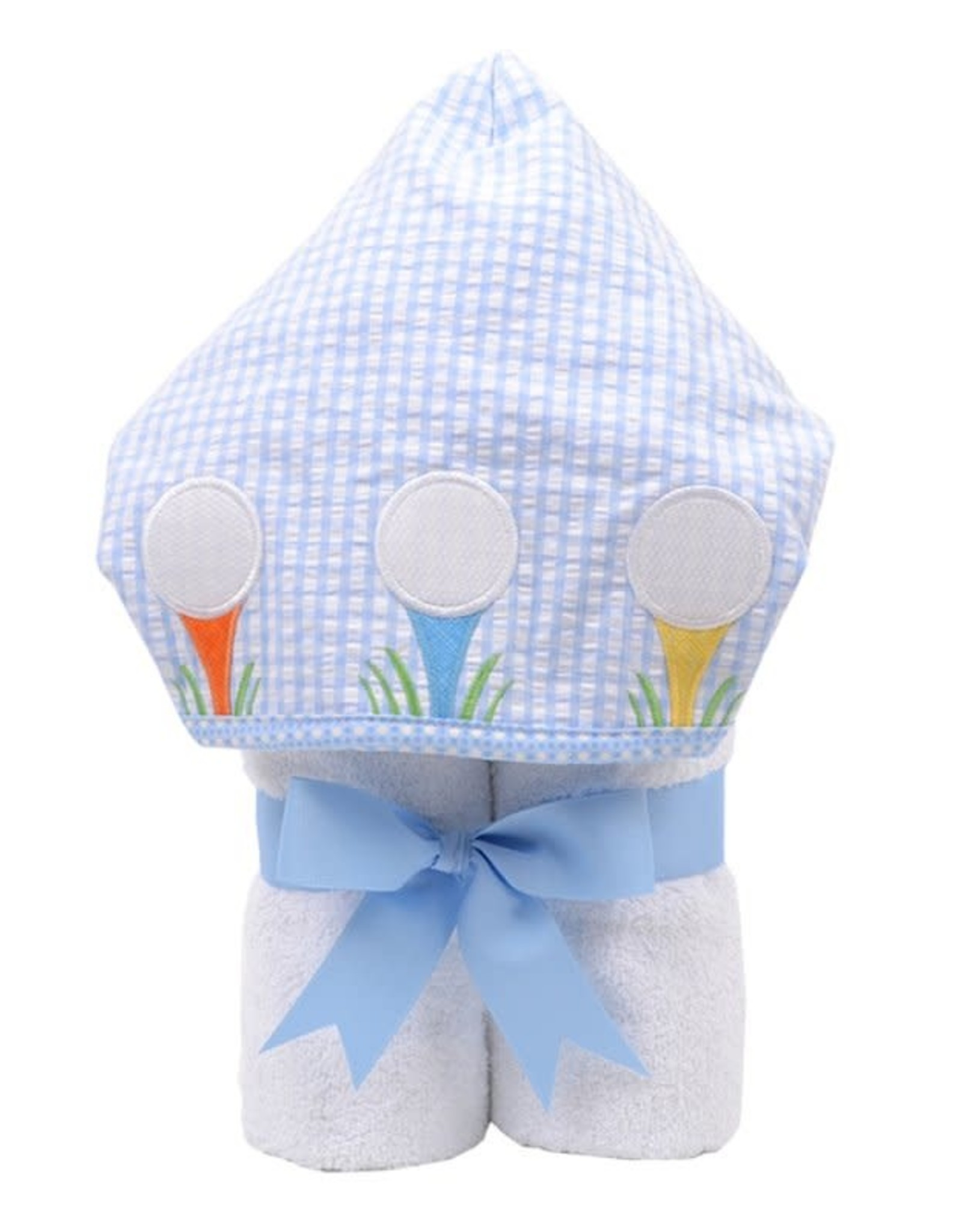 Three Marthas EveryKid Towel   Blue Golf