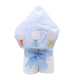 Three Marthas EveryKid Towel Blue Golf