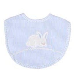 Three Marthas Bib Basic Blue Bunny