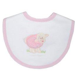 Three Marthas Bib Basic Pink Lamb