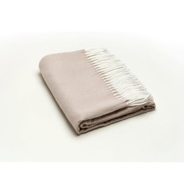 A Soft Idea Herringbone Throw Sand