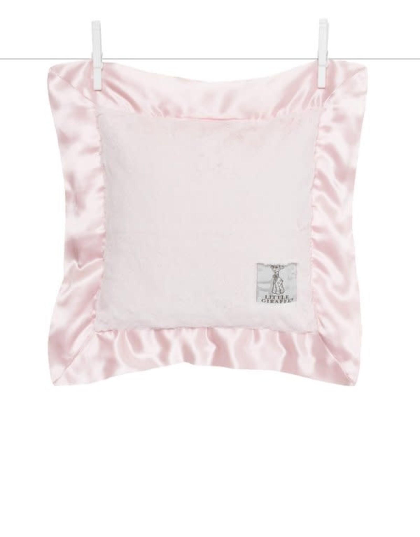 Little Giraffe Luxe Pillow Pink