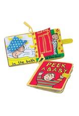 Jelly Cat Peek a Baby Book