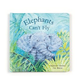 Jelly Cat Elephant's Can't Fly Book
