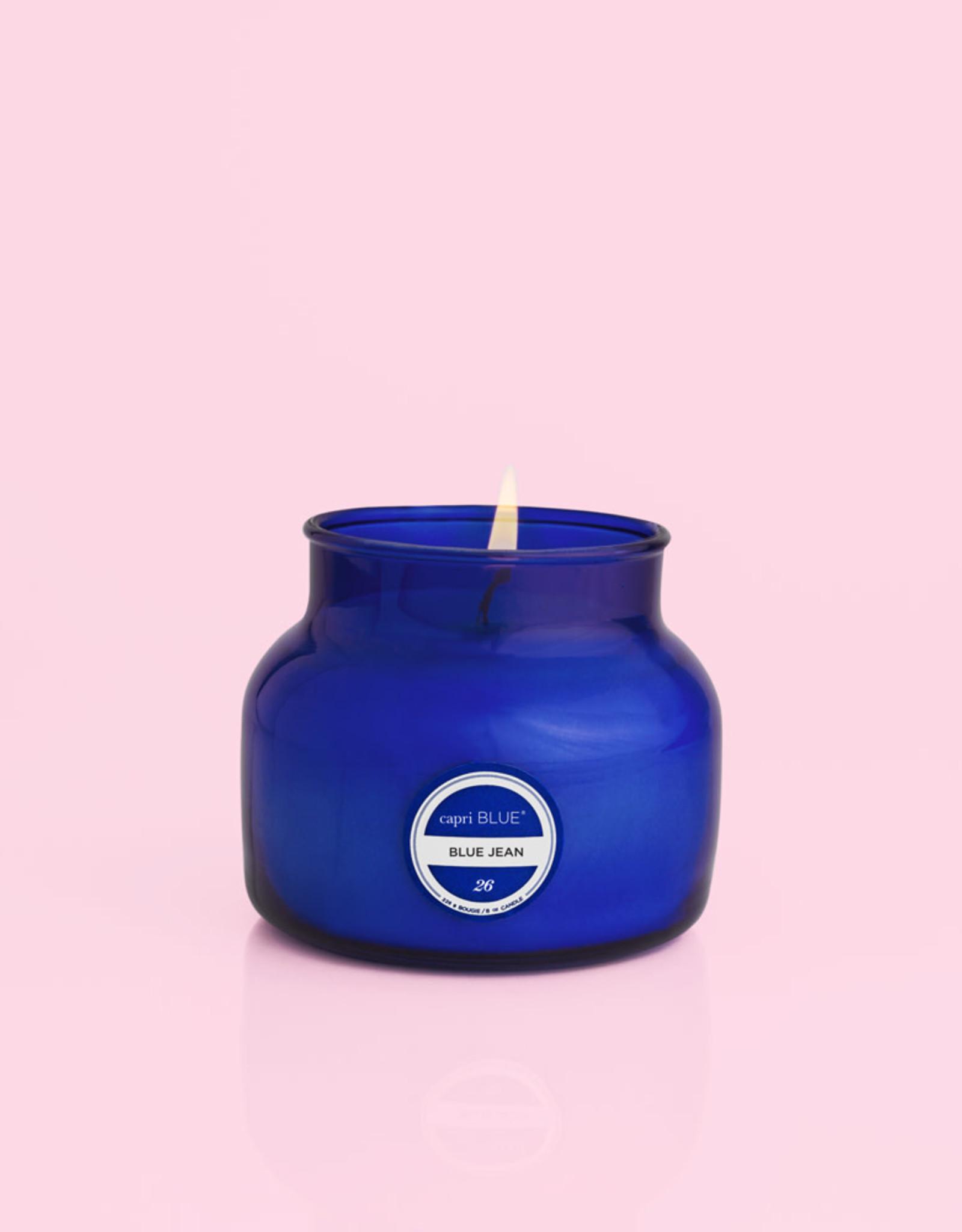 Capri Blue Petite Jar Blue Jean