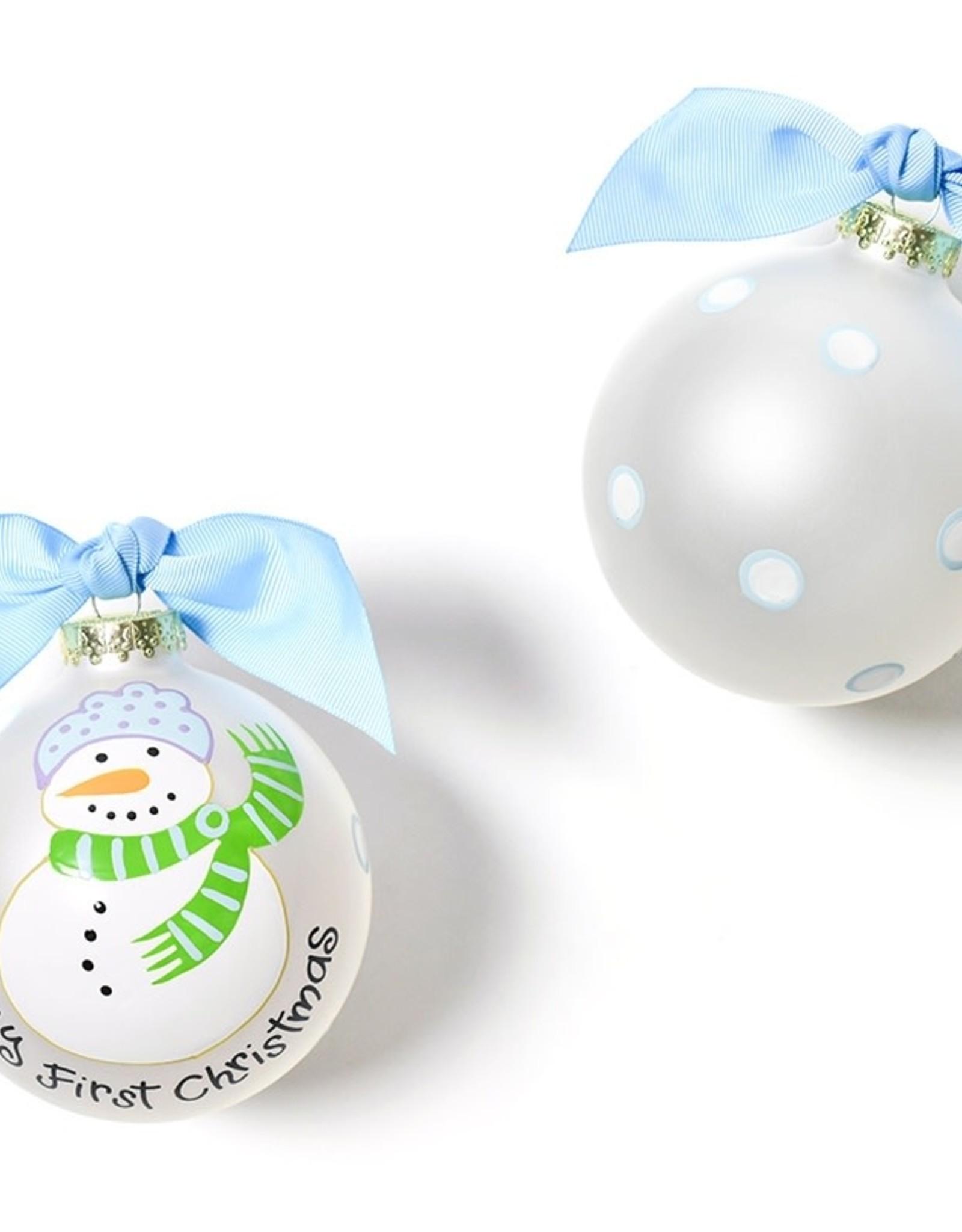 Ornament First Snowman Boy