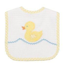 Three Marthas Bib Toddler Yellow Duck