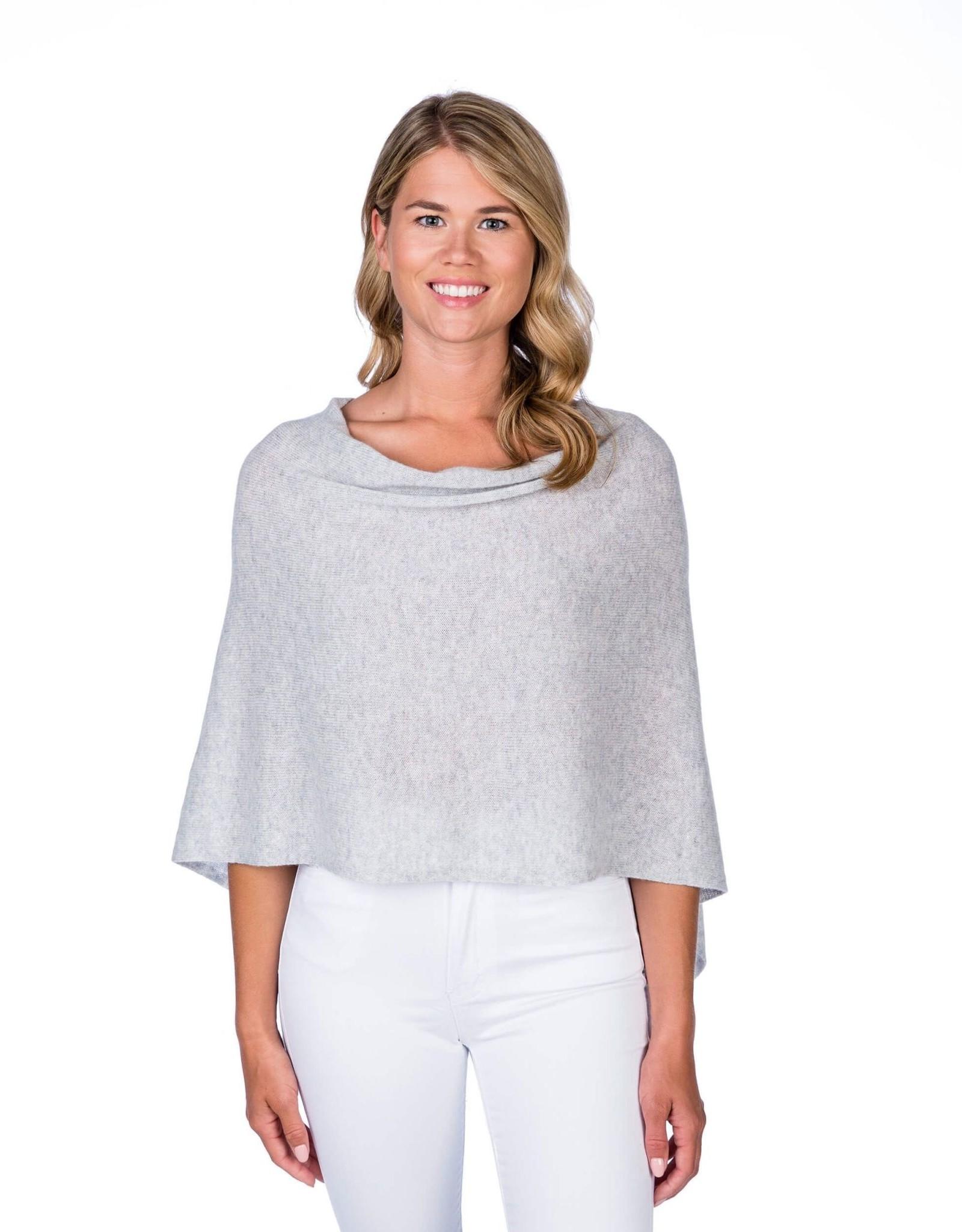 Alashan Cashmere Co. Dress Topper-Ash
