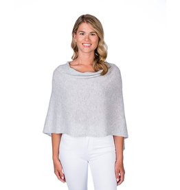 Alashan Cashmere Co. Dress Topper-Ash