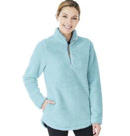 W's Newport Fleece Pullover Aqua