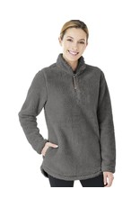 W's Newport Fleece Pullover Charcoal