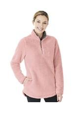 W's Newport Fleece Pullover Powder Pink